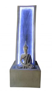 """Paras Magic White Buddha Fountain(13.77x11.81x38.58"""")"""