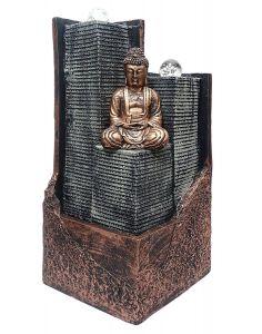 """Paras Magic Copper Buddha Fountain(15.75X12X23"""")"""
