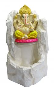 "Paras Magic White Ganesh Fountain( 14X13.5X26.5"")"