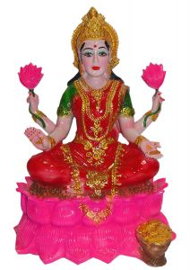 "Paras Magic Lotus Lakshmi Idol(11.81x9.84x16.53"")"