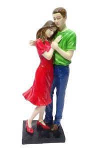 """Paras Magic Couple Showpiece with Umbrella(4.25x3.75x15.25"""")"""