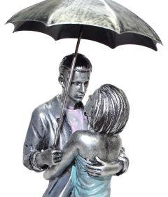 """Paras Magic Couple Showpiece with Umbrella(4.25x3.75x16.25"""")"""