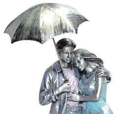 """Paras Magic Couple Showpiece with Umbrella(4.25x3.75x16"""")"""