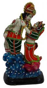 "Paras Magic Beautiful Ram Sita Ji 04 (8X6X14"")"