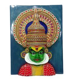 "Paras Magic Kathakali Painting(18.25X4X24"")"