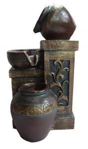 "Paras Magic Matka Water Fountain(8.25X5X16"")"