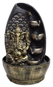 "Paras Magic Ganesh Fountain 010(10x10x15.75"")"