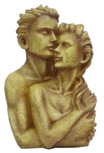 Paras Magic Couple Showpiece (8.25X4.5X15.5 inch)