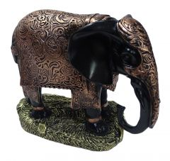 "Paras Magic Elephant Showpiece(12X5.25X8.25"")"
