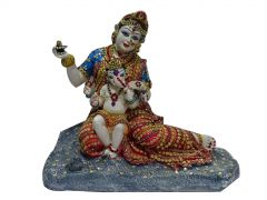 "Paras Magic Mata Parvati & Ganesha Idol(14.5X8X12.25"")"