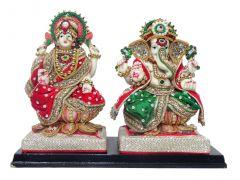 """Parsa Magic Lakshmi Ganesha Ji(10x1.5x7.5"""")"""