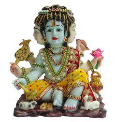 """Paras Magic Brahma Vishnu Mahesh Idol(13.5X7X12"""")"""