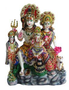 """Paras Magic Shiv Parivar with Kartike(12.25X5.25X15.75"""")"""