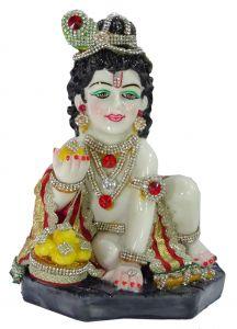 "Paras Makhan Chor Krishna(6.25x5x8.75"")"