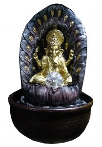 "Paras Magic Ganesh Fountain(10.5X10.5X16"")"