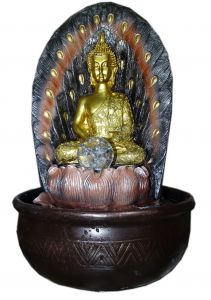 "Paras Magic Buddha Fountain(10.5X10.5X16"")"