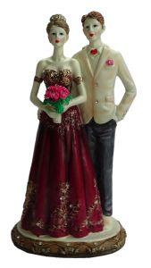Paras Magic Couple Statue Showpiece (5X4.5X10 inches)
