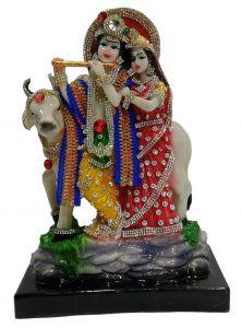 Paras Magic Cow Radha Krishna JI (7.5X4x10.5 inch)