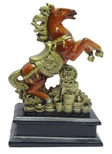 "Paras Magic Lovely Horse Showpiece(5X3.5X8"")"