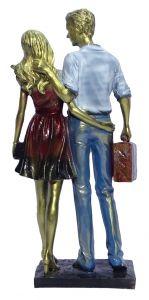 Paras Magic Couple Showpiece (6.5x3.25x13.5 inch)