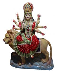 "Paras Magic Big Durga Mata Idol (45X21.5X58"")"