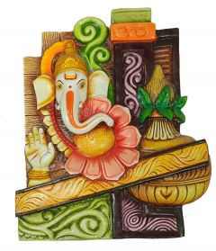 Paras Magic Ganesh Wall Hanging (9.5x1.5x11.5inch)