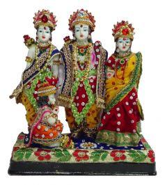 Paras Magic Ram Darbar Idol (9X4X9.5 inch)