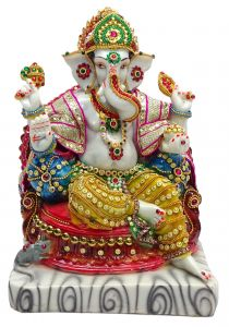 "Paras Magic Lord Ganesha Ji Idol (8.25X5.5X12"")"
