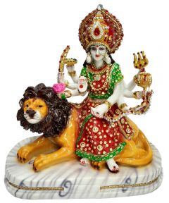 Paras Magic Durga Mata (14x7x14.25 inch)