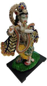 """Paras Magic Krishna Idol  (9x6.75x14.5 """")"""
