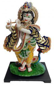"""Paras Magic Krishna Idol  (9x6.75x14.5)"""""""