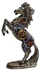 "Paras Magic Jumping Horse Showpiece(8.75x3.25x12.5"")"
