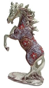 "Paras Magic Jumping Horse Showpiece(10X4X16.25"")"