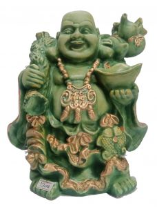 Paras Magic Laughing Buddha Showpiece(8X6X8 inch)