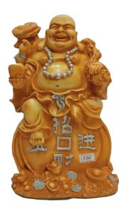 Paras Magic Laughing Buddha Showpiece(8X6X10 inch)