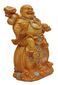 Paras Magic Laughing Buddha Showpiece(8X6X10 inch)