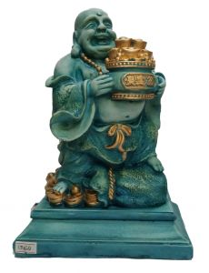 Paras Magic Laughing Buddha Showpiece (7x5.5x10 inch)