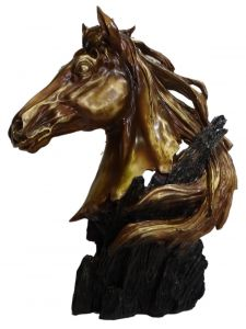 "Paras Magic Horse Face On Tree(12x4.25x16"")"