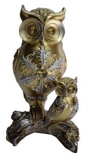 Paras Magic 2 Owl Showpiece (4.75x2.75x8 Inch)