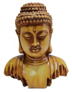 Paras Magic Buddha Face Showpiece2 (6.25x3.5x6.25 inch)