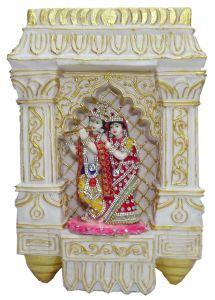 Paras Magic Beautiful Radha Krishna Wall Hanging (10x2.75x14.5 inch)