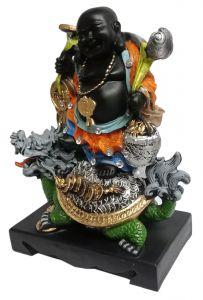 Paras Magic Laughing Buddha (11x6.25x15.25 inch)