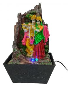 Paras Magic Radha Krishna Water Fountain(10x7.5x17 inch)