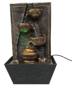 Paras Magic Diya Matka Water Fountain (10x7.5x17 inch)