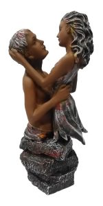 Paras Magic Hug Couple Showpiece1 (7x4.5x16 inch)