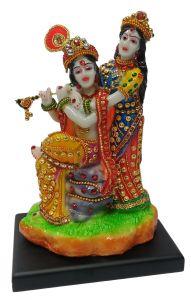 Paras Magic Radha Krishna JI Statue1 (4.5x4x8 inch)