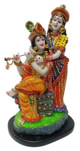 Paras Magic Radha Krishna JI Statue2 (8x6.5x13.5 inch)
