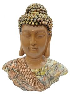 Paras Magic Buddha Face Showpiece (11x4x13 inch)