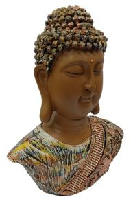 Paras Magic Buddha Face Showpiece (9x3.5x11.5 inch)