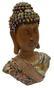 Paras Magic Buddha Face Showpiece (7x3x9 inch)